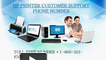 HP Printer customer support phone number +1-866-501-4505