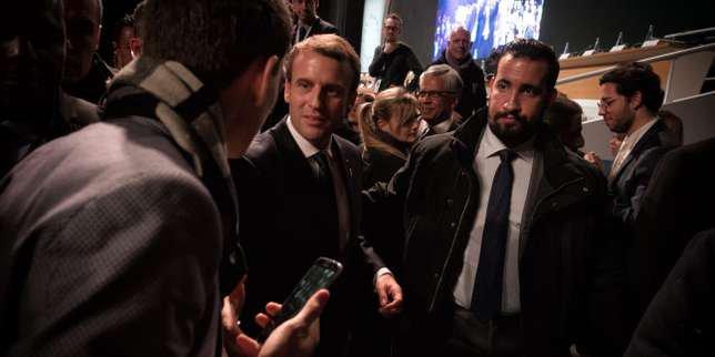 «LeMonde» identifie, sur une vidéo, un collaborateur de Macron frappant un manifestant, le 1ermai, à Paris