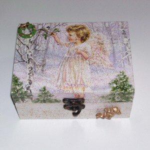 Boîte à bijoux ange