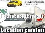"""Annonce """"Camion avec chauffeur"""""""