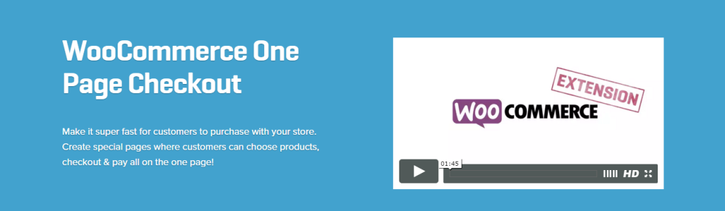 WooCommerce One Page Checkout 1.2.7 Extension nulled