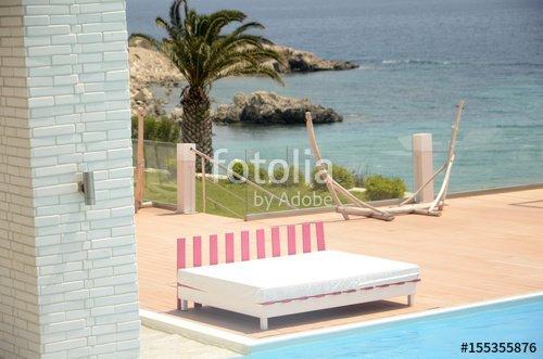 """""""Pythagorion Beach (Samos)"""" photo libre de droits sur la banque d'images Fotolia.com - Image 155355876"""