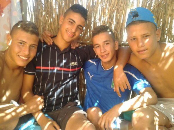 A La Plage avec mes amis