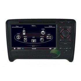 Auto DVD Player GPS Navigationssystem für Audi TT(2006 2007 2008 2009 2010 2011)