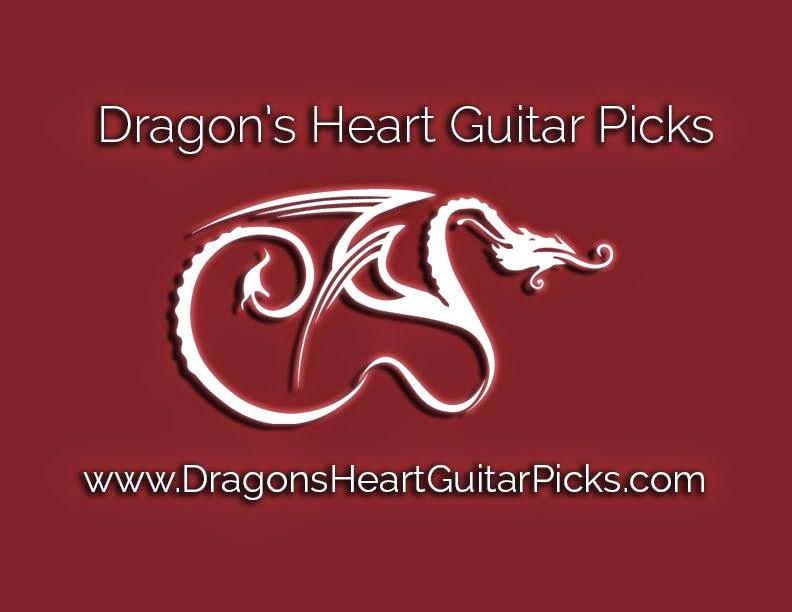 Dallton Santos - Rock & Fusion Guitar : Dragons Heart Guitar Pick video review