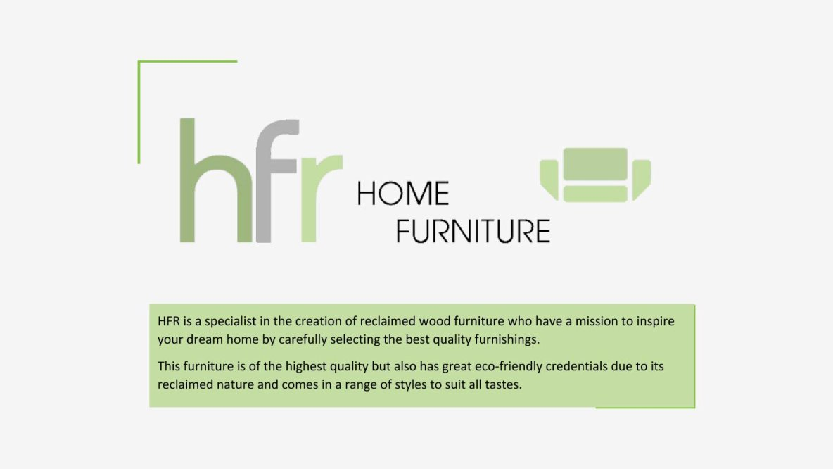 HFR Reclaimed Wooden Furniture
