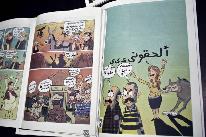 New breed of Egyptian comics explore sexual harassment and violence - By Sarah El Deeb	The Associated Press - November 21, 2014 4:38 am