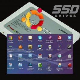 VELS - Disque dur Linux bootable SSD SATA3 16-32-64 Go