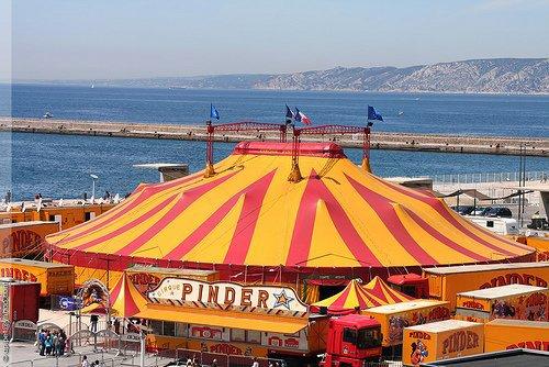 Retrouvez ici tous les cirque de France !