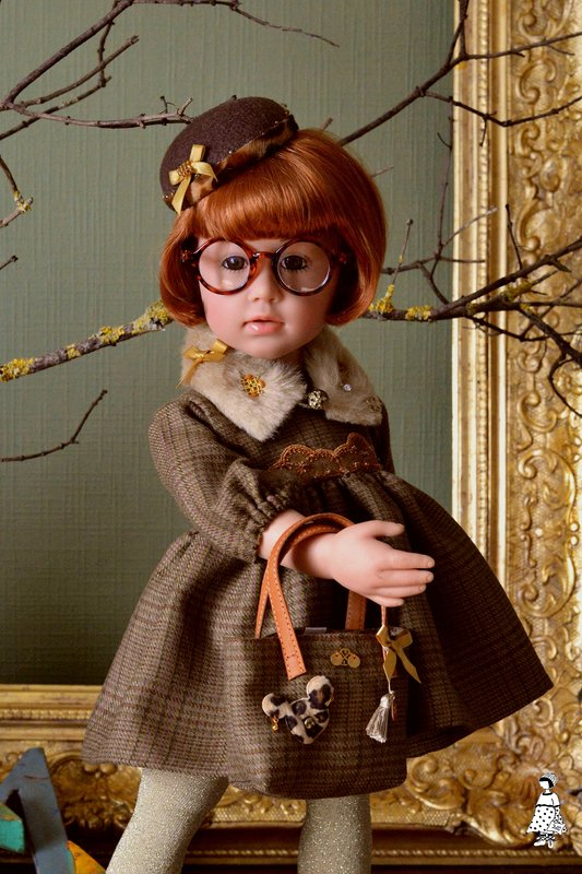 Les ateliers Mina couture: Art doll