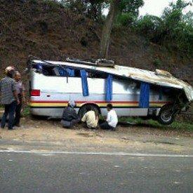 Des Belges parmi les passagers d'un accident de bus en Indonésie