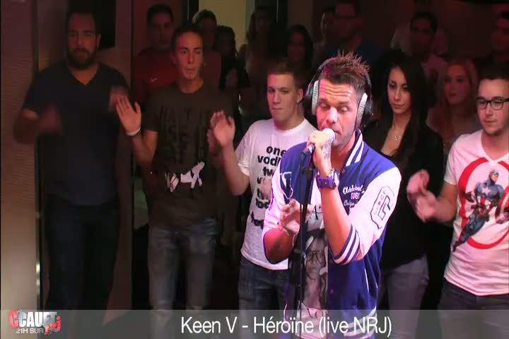 Keen V - Heroine live NRJ