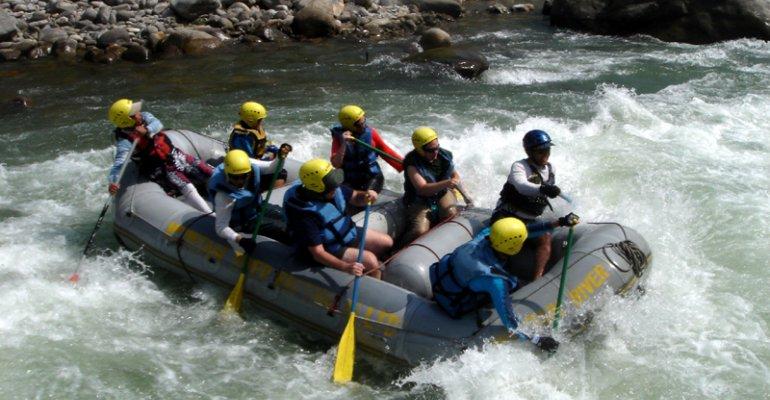 Bhote Kosi River Rafting