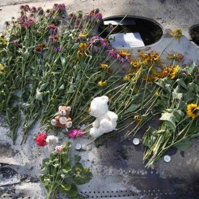Le père d'une victime du vol MH17 meurt «le coeur brisé»