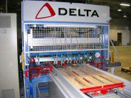 Hydraulic nailing machine with belt (CHT) | DELTA S.r.l.