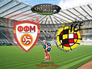 Prediksi Macedonia Vs Spanyol 12 Juni 2017
