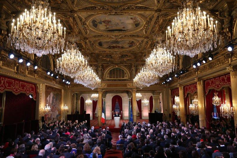 Ouverture de la conférence de presse du président de la République