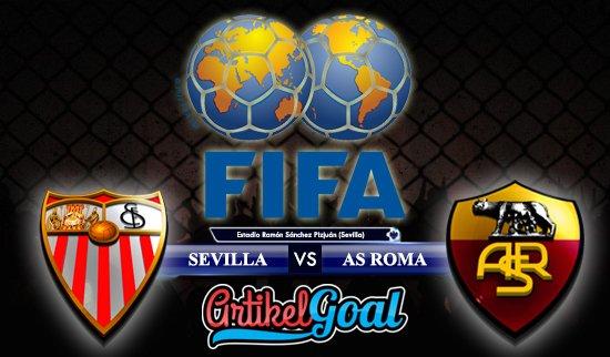 Prediksi Bola Sevilla Vs Roma 10 Agustus 2017
