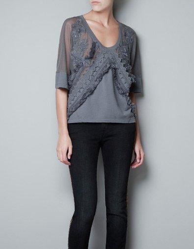 SWEAT NEW ROMANTIC - T-shirts - Femme - ZARA France