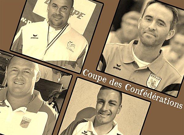 Coupe des Confédérations, nouvelle vague pour la France .