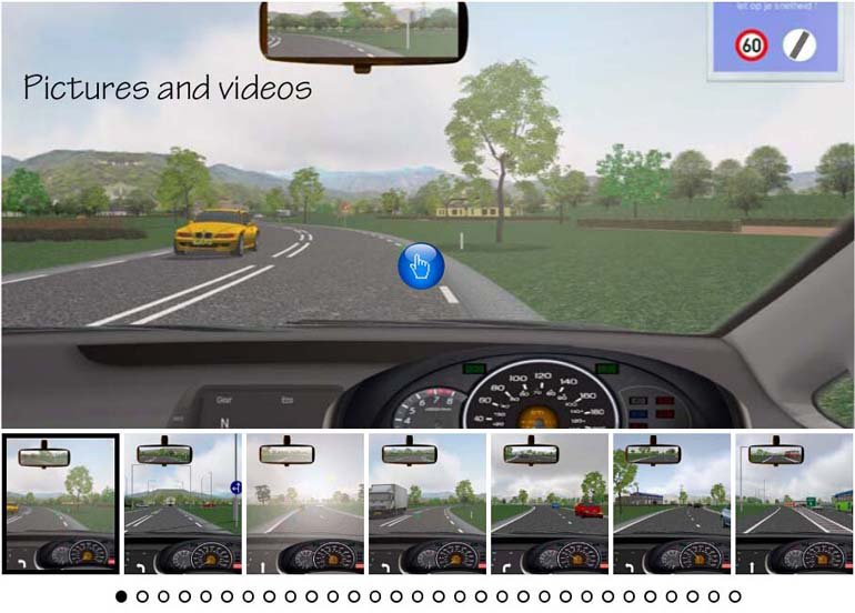 The Carnetsoft driving simulator