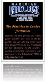 Read Top Magician In London For Parties Online Free | Entertainment | YUDU