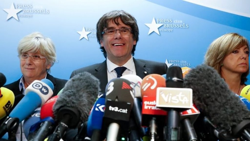 Spain court summons sacked Catalan leader