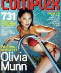 Olivia Munn in Complex magazine | Free People