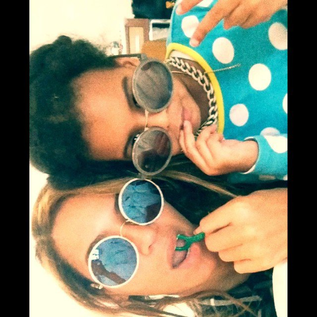 Beyonce et sa fille Blue Ivy Carter !