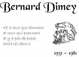 La Po?sie que j'aime ... ~ DIMEY, Bernard (1931-1981)