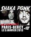 SHAKA PONK + GUESTS - PALAIS OMNISPORTS DE PARIS BERCY à PARIS 12 - Pop-rock/Folk