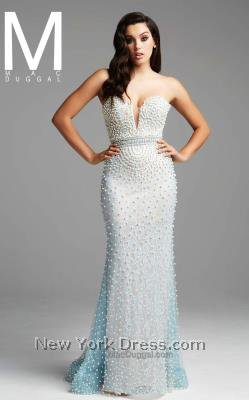 Mac Duggal 80595D Dress - NewYorkDress.com