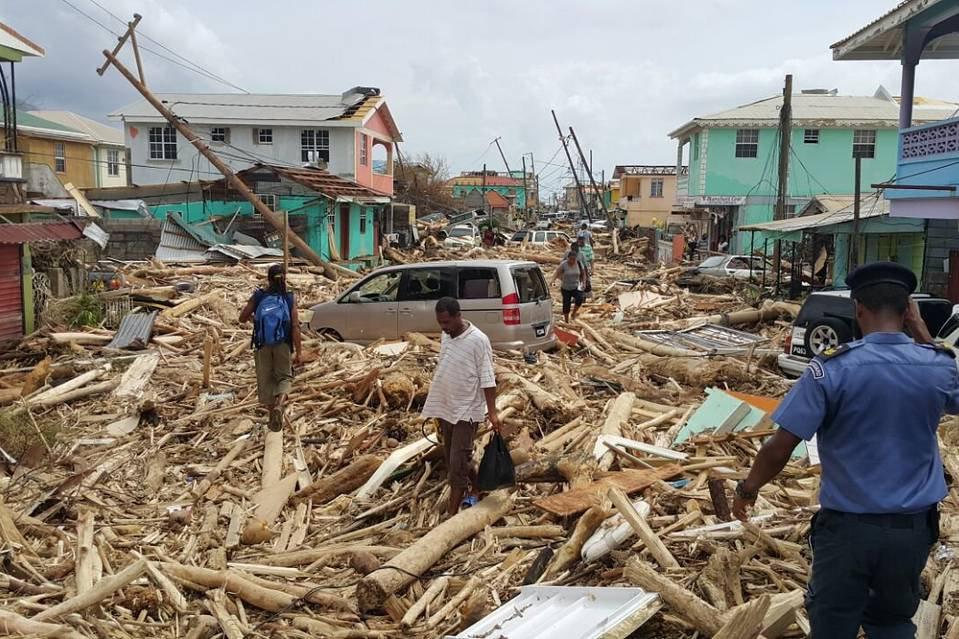 Ouragan Maria à Puerto Rico