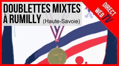 Tirage du Championnat de France Doublettes Mixte à Rumilly -