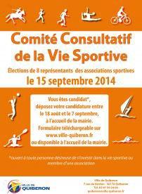 Création d'un Comité Consultatif de la Vie Sportive