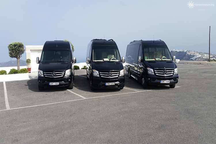 Santorini Private Transfers Services - SANTORINI PRIVATE GUIDED TOURS