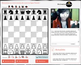 Devenez un maître du jeu d'échecs avec PrivateChess