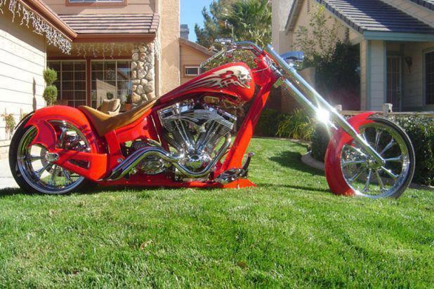 Une belle moto !!!