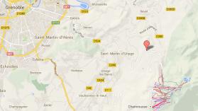 Accident. Un car avec 53 adolescents percuté par une fourgonnette à Saint-Martin-d'Uriage en Isère - France 3 Alpes