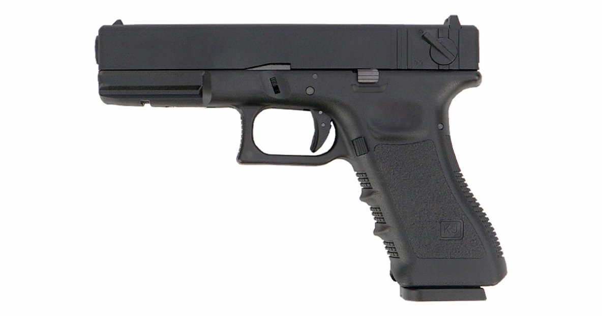 KJ WORKS GLOCK 18 Gas Blowback Pistol