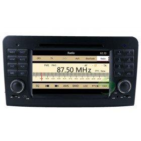 Auto DVD Player GPS Navigationssystem für Mercedes-Benz ML Klasse(W164)(2005 2006 2007 2008 2009 2010 2011 2012)(ML300 ML350 ML450 ML500)