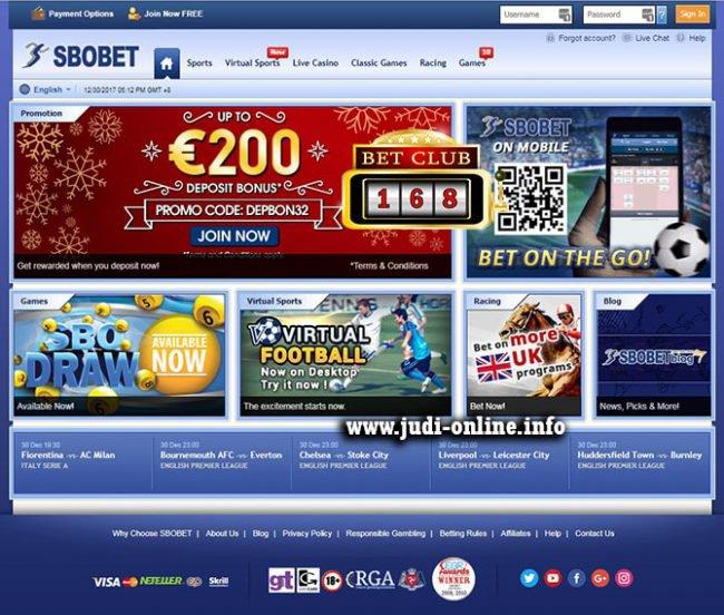 Taruhan Casino Sbobet Online Banyak Bonus Lengkap