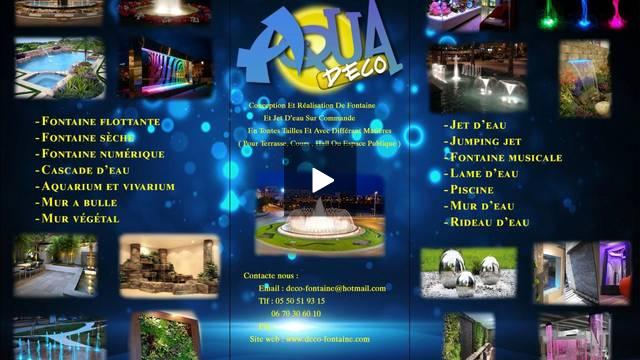 Regardez ce film sur Magisto: AQUADECO 0550519315
