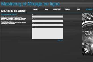 Mix et Mastering en ligne