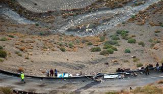 Quarante-deux morts dans un accident d'autocar