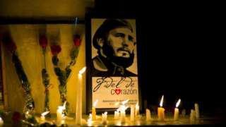Fidel Castro death: Cubans mourn ex-leader - BBC News