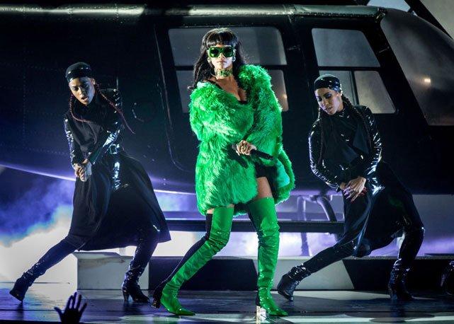 Rihanna réalise une performance éblouissante