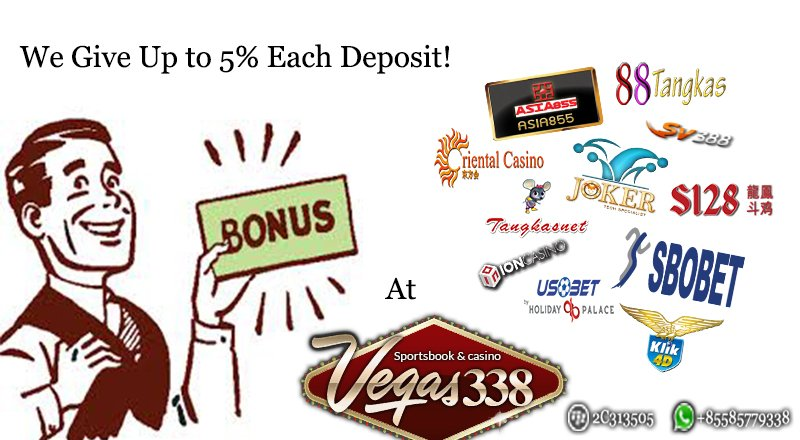 Bonus Setiap Deposit 5 Persen Casino Online