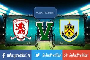 Prediksi Bola Middlesbrough Vs Burnley 8 April 2017
