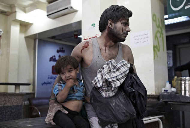 Shocking image - Syria's civil war | Mai Jaha Jata Hoon Chha Jata Hoon